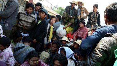 مقتل 90 شخصاً بانهيار منجم في ميانمار