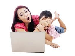 مضايقات يتعرض لها الأبناء على الانترنت