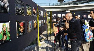 مجموعة إبداع تُقيم معرضاً فنياً يجسّد القضية الحسينية