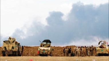 """القصف الجوي والتقدم العسكري يجبران  """"داعش"""" على الإنسحاب من الحويجة"""