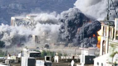 طائرات التحالف تجدّد قصفها لتعز استعداداً لاقتحامها