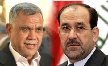 """المالكي والعامري يبحثان جعل """"دولة القانون"""" كتلة برلمانية قوية"""