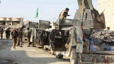 القوّات الأمنية تحرر منطقة قضيب ألبان والملعب في أيمن الموصل