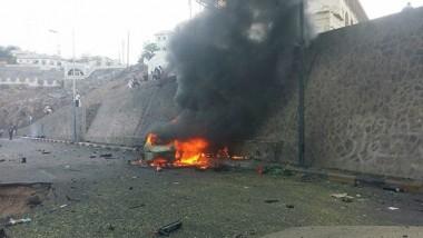 مقتل محافظ عدن في تفجير إرهابي