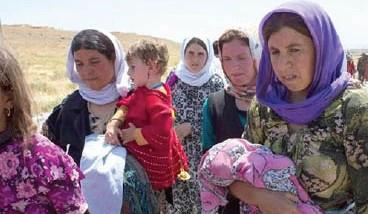 أيزيديون: سعادتهم تكتمل بفك أسر النساء والأطفال المختطفين