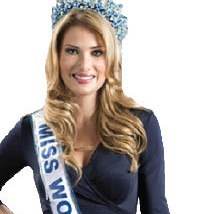 تتويج ميريا لالغونا  بلقب ملكة جمال العالم