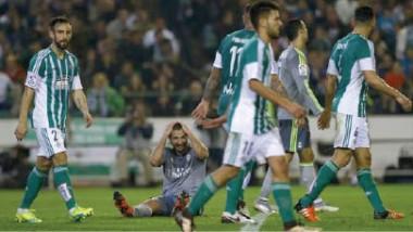 بيتيس يحرج ريال مدريد ويبعده عن صراع الصدارة في الليغا