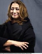 زها حديد تفوز بذهبية العمارة لعام 2016 من المعهد الملكي البريطاني