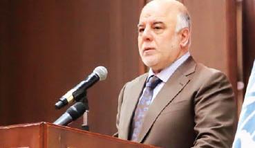 العبادي ينفي تصريحات عن تقديمه وزراء مستقلين بدعوة من الصدر