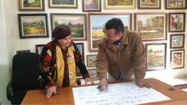 المرسم الحر يقيم دورة تدريبية لتعلّم فنون الخط العربي