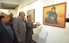 معرض للفن التشكيلي الميساني في بغداد