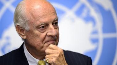 دي ميستورا : لا محادثات سلام سورية  خلال أسبوعين أو ثلاثة