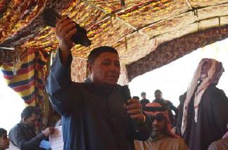 أكبر مزاد لطيور الحمام في العراق