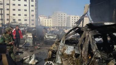 مقتل 30 شخصاً وإصابة 40 بتفجيرين في السيدة زينب جنوب دمشق
