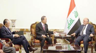 """العبادي يبدي ثقته بإمكانية خروج العراق من التحديات الراهنة بنحو """"أقوى وأصلب"""""""