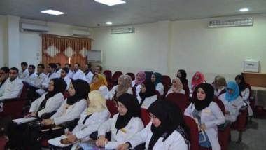 محاضرات وحوارات علمية نظّمها مستشفى الشفاء العام في البصرة