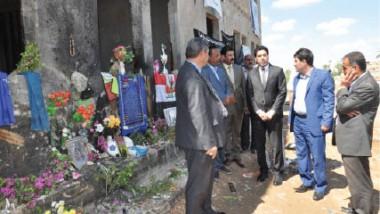«الشباب والرياضة» تزور موقع التفجير الإجرامي في ملعب الإسكندرية