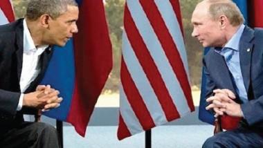 أوباما وبوتين يتشاوران هاتفياً لتثبيت وقف النار في سوريا وإنقاذ العملية السياسية في جنيف