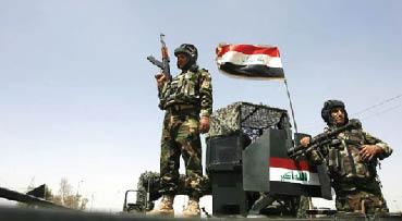"""""""عمليات نينوى"""" تحرر قرية العوسجة التابعة لناحية القيّارة من الزمر الإرهابية"""