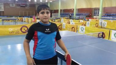 حسين علي.. طاقة واعدة بكرة الطاولة