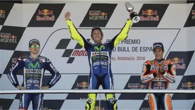 الإيطالي روسّي يفوز بسباق  إسبانيا للدراجات النارية