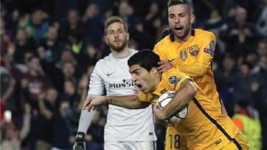 سواريز ينقذ برشلونة امام أتلتيكو.. و خبرة البايرن تقوده للفوز على بنفيكا