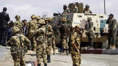 مصر تعلن مقتل 65 إرهابياً بسيناء ومقتل اثنين في انفجار