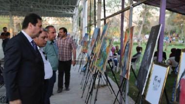 «الشباب والرياضة» تشارك في مهرجان بغداد العالمي للزهور