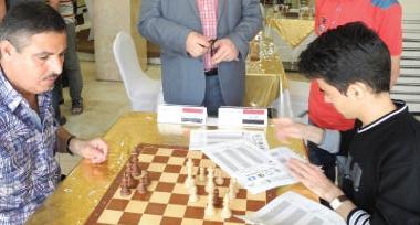 أضواء على البطولة الدولية الرابعة بالشطرنج