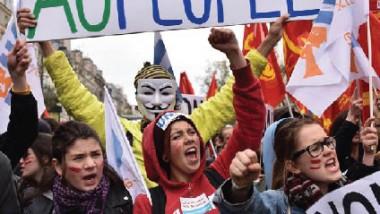 فرنسا: تواصل الاحتجاجات العمالية في قطّاعات أساسية