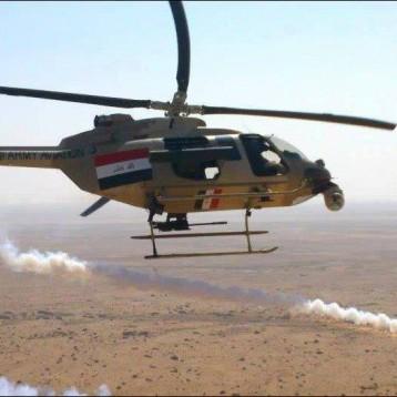 ضربات جوية تقضي على 14 عنصراً من داعش شمال غربي كركوك