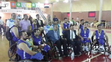 وسام المجد يشارك في منافسات غربي آسيا بسلّة الكراسي