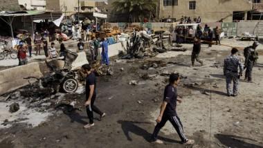 سلسلة انفجارات تضرب بغداد وتسفر عن عشرات الشهداء والجرحى