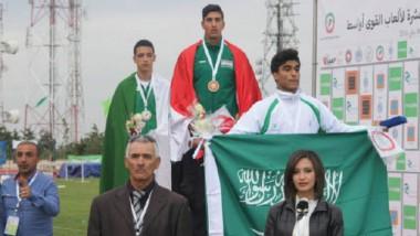 «ألعاب القوى» يحلّ رابعاً في مضمار العرب ويحرز 13 وساماً متنوعاً