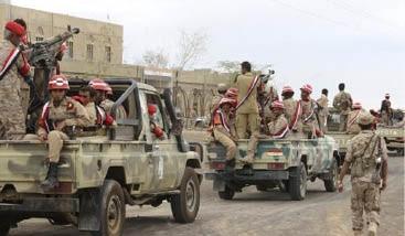 القوّات الشرعية في اليمن تسيطر على مواقع استراتيجية على الحدود مع العاصمة صنعاء