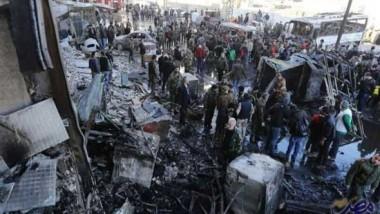 8 قتلى في تفجير مزدوج بمنطقة  السيدة زينب جنوب دمشق