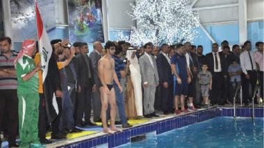 «الشباب والرياضة» تفتتح مسبح الأعظمية