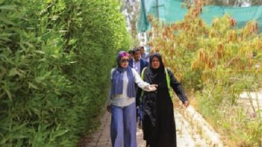 متنزهات وحدائق أمانة بغداد تكثّف استعداداتها لاستقبال المواطنين في العيد