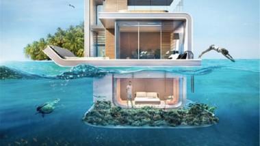 دبي تبتكر أول مشروع للمنازل العائمة في العالم