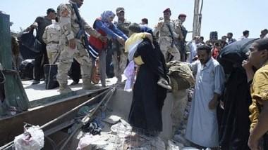 نزوح عشرة آلاف مواطن من الفلوجة منذ انطلاق عمليات التحرير