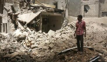 القوّات الحكومية تُعلن تقدمها في غوطة  دمشق الشرقية وتتراجع في جبل التركمان