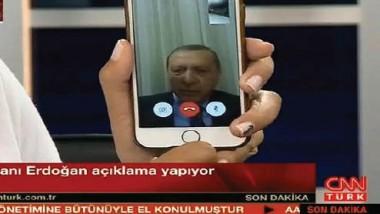 الهواتف الذكية أفشلت الانقلاب في تركيا