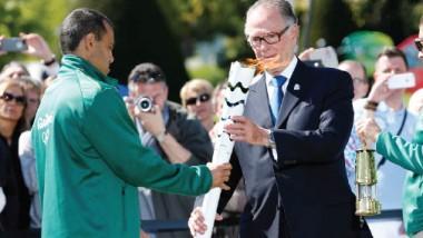 شعلة الأولمبياد تصل ساو باولو.. والبرازيل تبدأ عمليات تأمين الأولمبياد