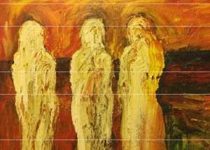 هموم الأنثى تحتمي بالألوان في أعمال روناك عزيز