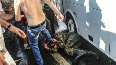 الانقلاب على حقوق الإنسان في تركيا