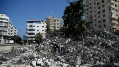 إصابة فلسطينيين في قصف جوي ومدفعي إسرائيلي شمال قطّاع غزّة