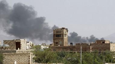 استئناف ضربات التحالف الجوّية على العاصمة اليمنية