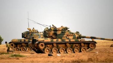 الجيش التركي والتحالف الدولي  يباشران عملية ضد تنظيم داعش في سوريا