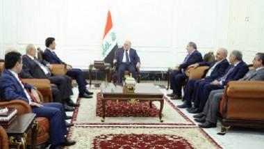 العبادي وبارزاني يؤكدان على توحيد جهود معركة تحرير الموصل