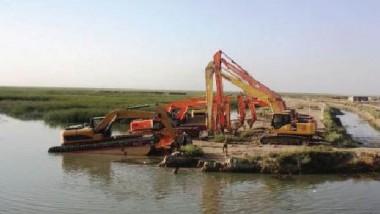 الموارد المائية تباشر بحملة واسعة لتأهيل مناطق أهوار الجبايش